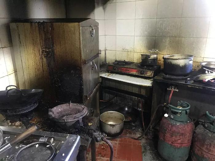 Nguy cơ hỏa hoạn của các nhà bếp công nghiệp
