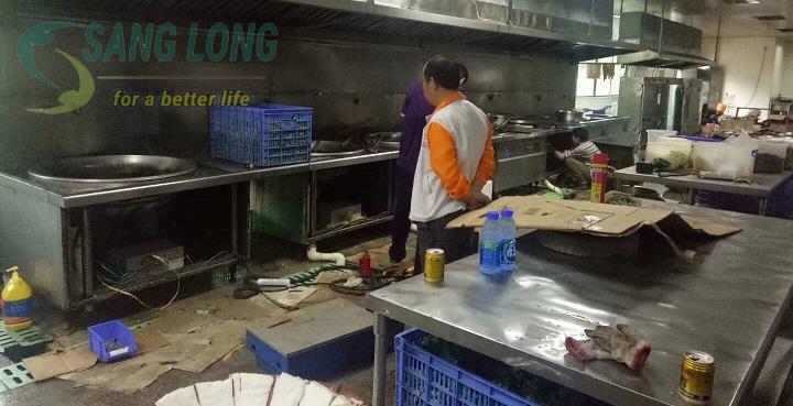 sửa bếp từ công nghiệp